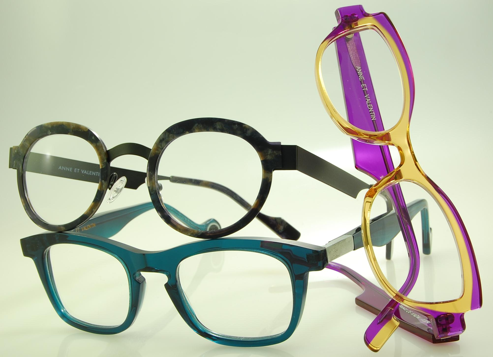 Anne et Valentin luxury eye glasses.