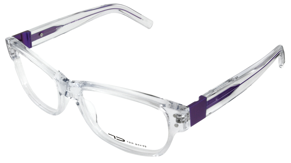 Uptown Vision is proud to carry Tom Davies eyeglasses.